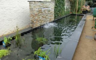 Tuinaanleg Swartbroek waterval 2